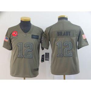 Youth New England Patriots Tom Brady Jersey